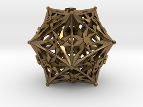 D20 Balanced - Radiant in Natural Bronze