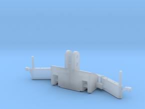 1/87 H0 TractorBumper mit Gewicht in Smooth Fine Detail Plastic