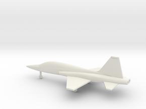 Northrop T-38 Talon in White Natural Versatile Plastic: 1:200