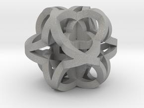 Celtic Knot Cube in Aluminum