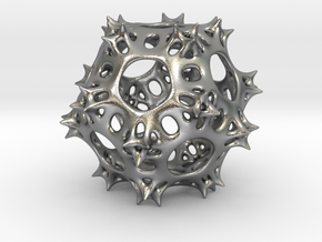 Pseudo-Radiolaria in Natural Silver