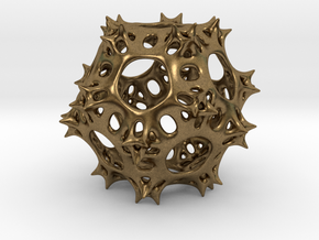 Pseudo-Radiolaria in Natural Bronze