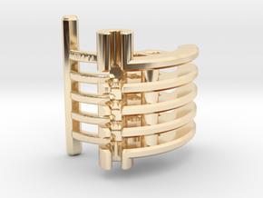 Korbanth / Parks LS6 - Master Var1 Part3 in 14k Gold Plated Brass