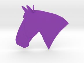 the Rosie Pendant in Purple Processed Versatile Plastic