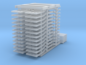 1:160  (Truck Frames) with tool box loads in Smooth Fine Detail Plastic