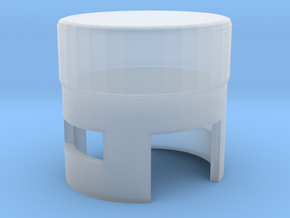 Miniature Turri Pouf Dolce - Turri in Smooth Fine Detail Plastic: 1:12