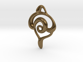 Snakes in Natural Bronze