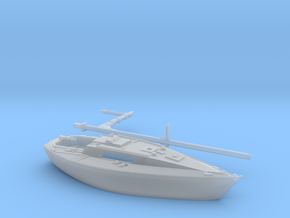 Nbat30 - Leisure sailboat in Smoothest Fine Detail Plastic