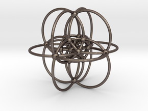 Elliptic Reye Configuration in Polished Bronzed Silver Steel