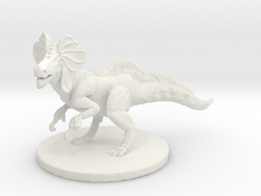 Great Jaggi (large beast) in White Natural Versatile Plastic