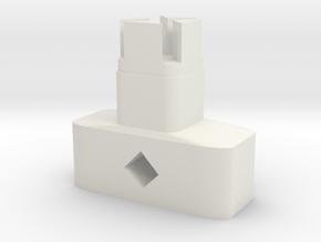 Cintas Key in White Natural Versatile Plastic