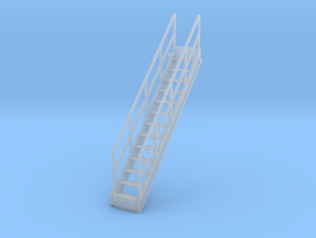 1/64 Stairs for 10' Tower in Smooth Fine Detail Plastic