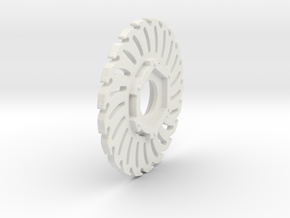 Losi Baja/Rock Rey Brake Disc in White Natural Versatile Plastic: 1:10