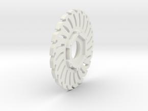 Losi Baja/Rock Rey Brake Disc in White Natural Versatile Plastic: 1:10