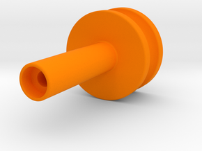 Dudley Pulley in Orange Processed Versatile Plastic