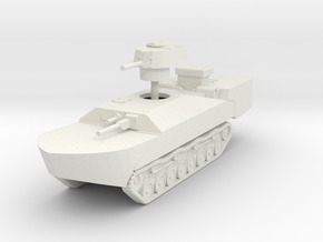 1/144 Type 5 To-Ku amphibious tank in White Natural Versatile Plastic