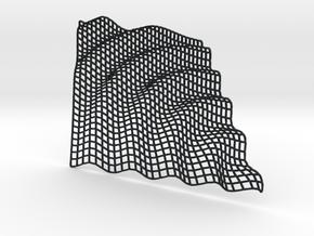 Gravity Wave in Black Hi-Def Acrylate