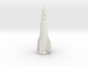 A-10 Rocket (Germany) ICBM in White Premium Versatile Plastic