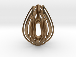 ester egg in Natural Brass