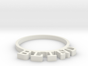 D&D Condition Ring, Blind in White Strong & Flexible