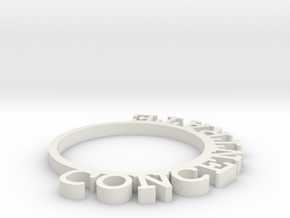 D&D Condition Ring, Concentrate in White Strong & Flexible