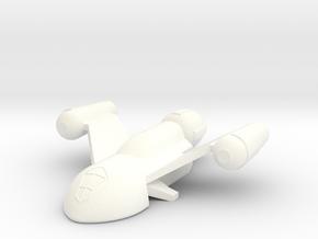 Peregrine in White Processed Versatile Plastic