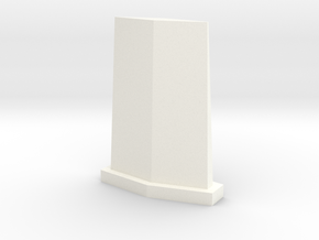 UHF Antenna in White Processed Versatile Plastic