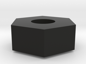 TLR 22 Standard 12mm hex (Fits all 22 BUGGIES) in Black Natural Versatile Plastic