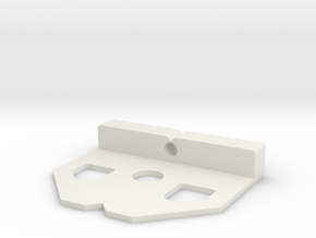 Cam Lock Gauge in White Natural Versatile Plastic