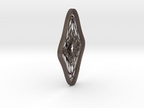 VoulezVous...-W in Polished Bronzed Silver Steel