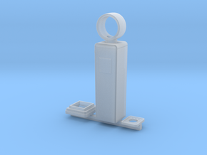 1:87 8 Ball Gas Pump in Smooth Fine Detail Plastic