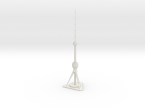 Tashkent TV Tower (1:2000) in White Natural Versatile Plastic
