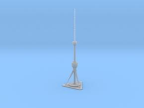 Tashkent TV Tower (1:2000) in Smooth Fine Detail Plastic