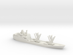 1/1200 RMS St Helena in White Natural Versatile Plastic
