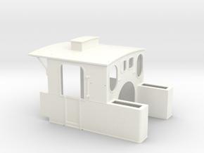 189 - Führerhaus 89 6009 in White Processed Versatile Plastic