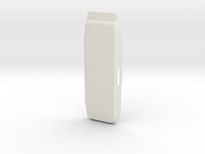 DJI Spark Top Cover in White Natural Versatile Plastic