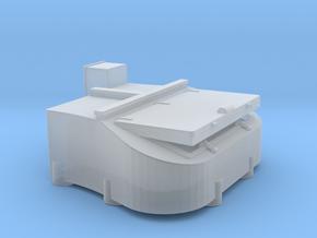 1/144 Bismarck stern deck hatch v7 in Smooth Fine Detail Plastic