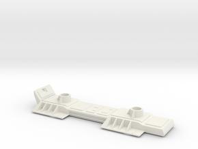 Deagostini Millennium Falcon Rear Landing Gear TFA in White Natural Versatile Plastic