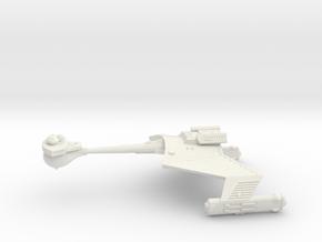 3788 Scale Romulan KRC Command Cruiser WEM in White Natural Versatile Plastic