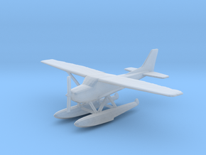 Cessna 172 Floatplane (1:200 and 1:400 Scales) in Smooth Fine Detail Plastic: 1:200