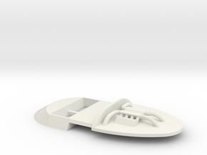 Cockpit Slot.it Nissan R390 GT1 in White Natural Versatile Plastic