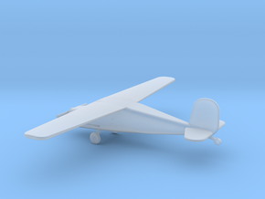 1/160 Scale Cessna 140 in Smooth Fine Detail Plastic