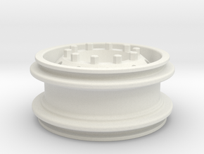 Felge Rim for 1:14 Tamiya / Lego Tire 62.4 x  in White Natural Versatile Plastic