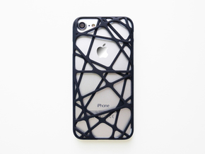 iPhone 7 Case_Cross in Black Natural Versatile Plastic
