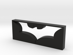 Dark Knight Logo in Black Natural Versatile Plastic