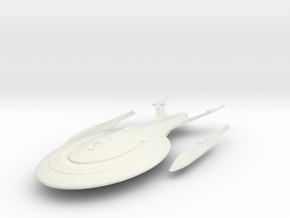 Enterprise F part 1 in White Natural Versatile Plastic