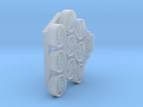 Generic DashBoard Gauges Set002 in Smooth Fine Detail Plastic