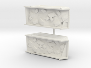 Site Dumpsters  in White Natural Versatile Plastic