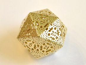 D20 Balanced - Lace in Natural Brass