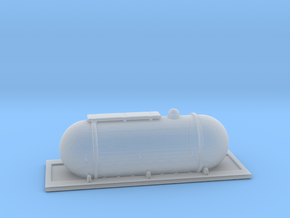 Compressed Fuel Container in Smooth Fine Detail Plastic